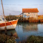 chenal ostréicole sur l'île d'Oléron, stage photo île d'Oléron