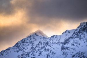 Montagne en feu, Alpes du Sud