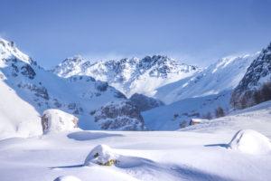 Ambiance hivernale dans le massif des Cerces