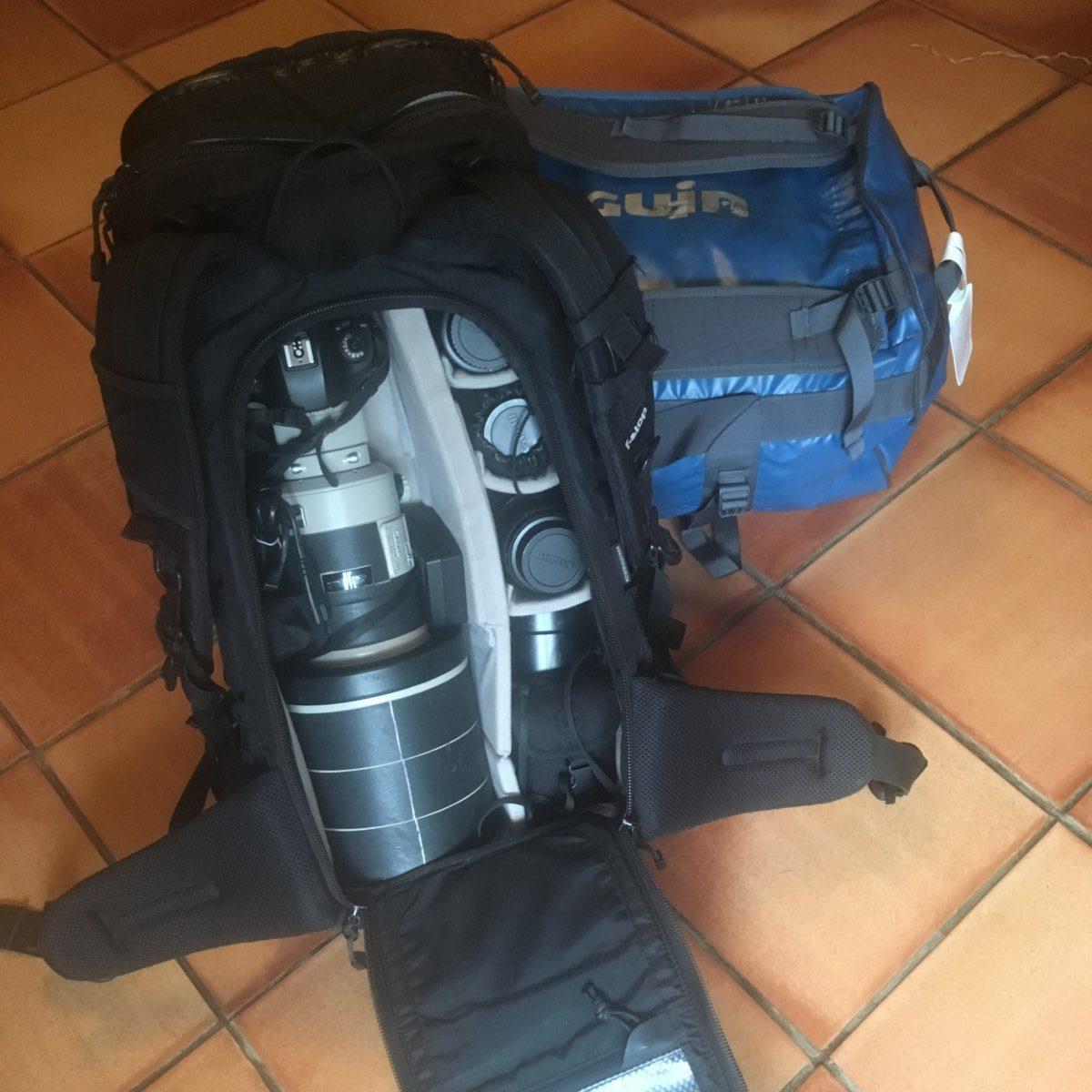 sac photo stop gear et bagage pour un voyage photo
