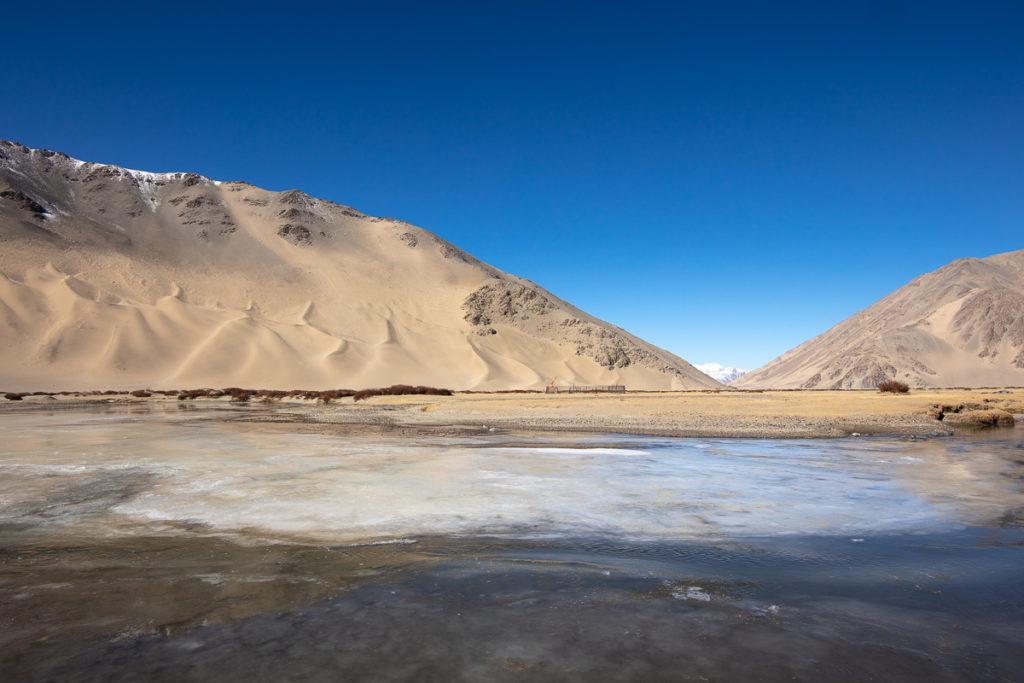 paysage du Chang Tang, en voyage photo panthère des neiges au Ladakh