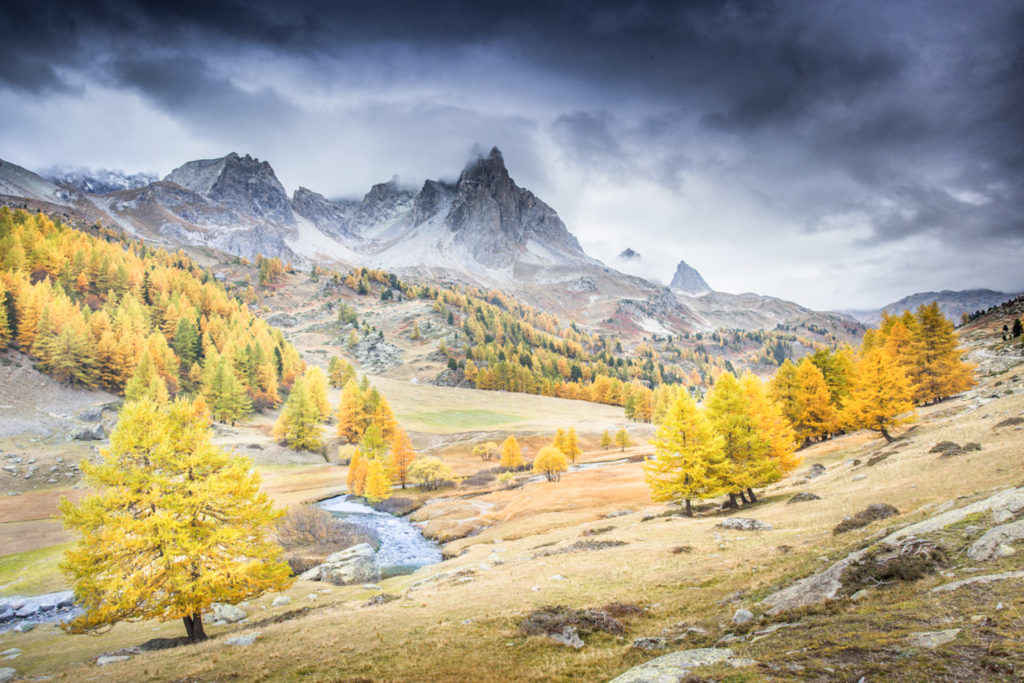 Un oeil sur la Nature | FRANCE – La vallée de la Clarée à l'automne