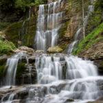 cascade en Chartreuse, photo en pose lente, stage photo cascade et torrents