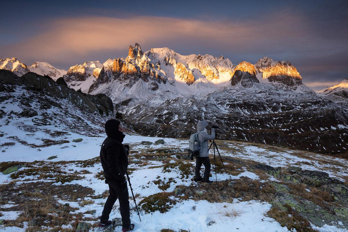 photographes stagiaires, stage photo de paysage de montagne, vallée de la Clarée
